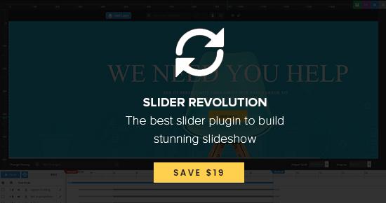 supports revolution slider