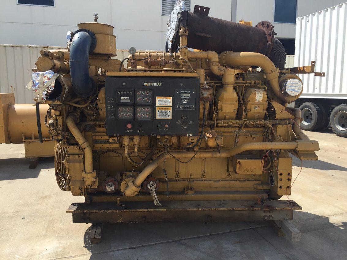 hight resolution of used cat 3512b marine propulsion engine