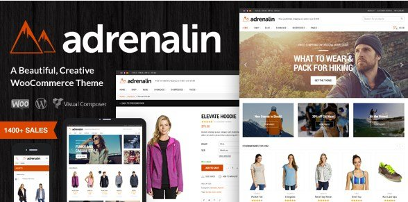 Adrenalin - Multi-Purpose WooCommerce Theme