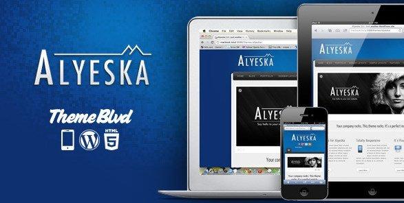 Alyeska - Responsive WordPress Theme