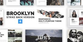 Brooklyn - Responsive Multi-Purpose WordPress Theme
