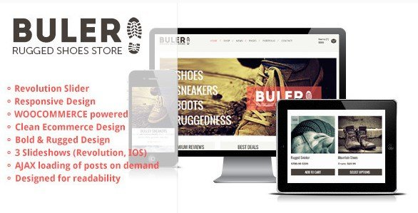 Buler - A Rugged Ecommerce WooCommerce Theme