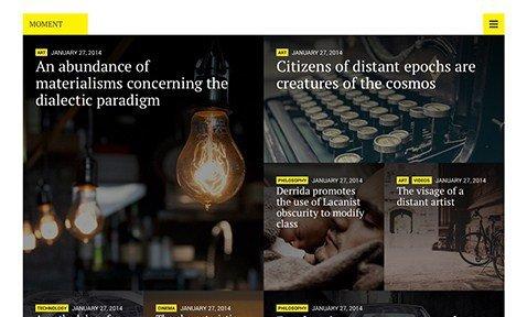 CSS Igniter Moment WordPress Theme