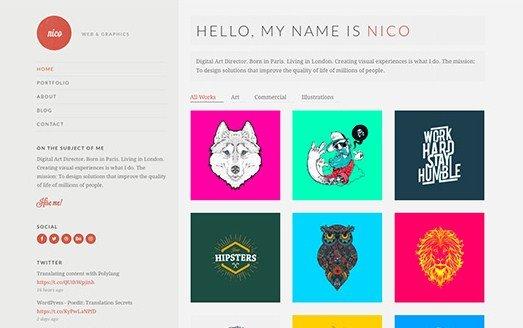 CSS Igniter Nico WordPress Theme