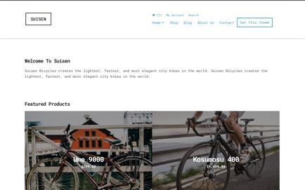 CSS Igniter Suisen WordPress Theme