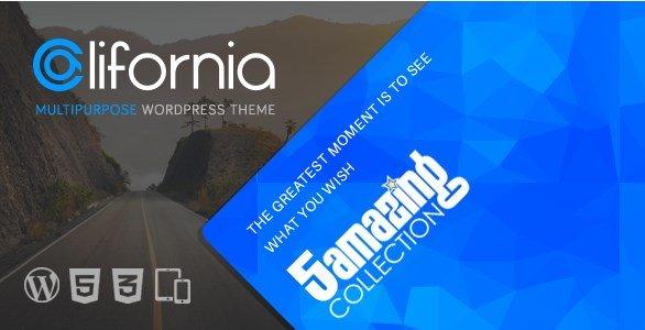 California - Multipurpose WordPress Theme