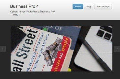 CyberChimps Business Pro 4 WordPress Theme