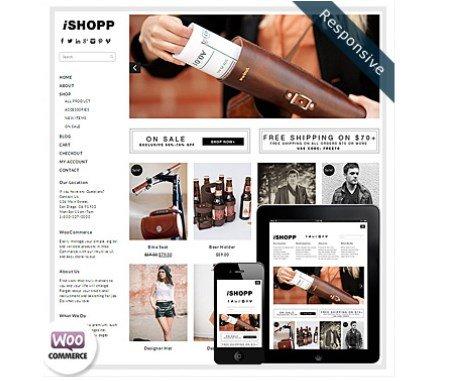 Dessign iShopp WooCommerce Themes