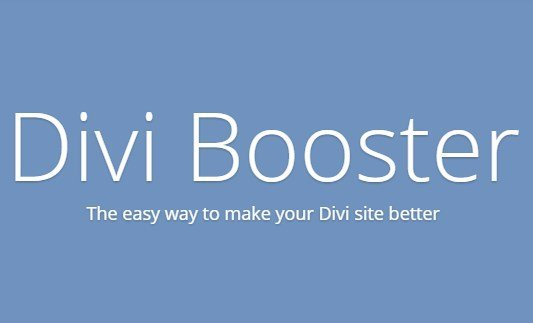 Divi Booster WordPress Plugin