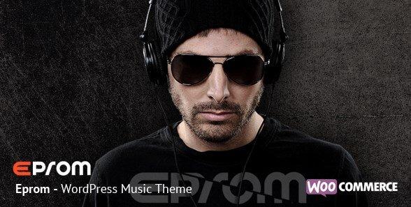 Epron - WordPress Music Band & Musician Theme