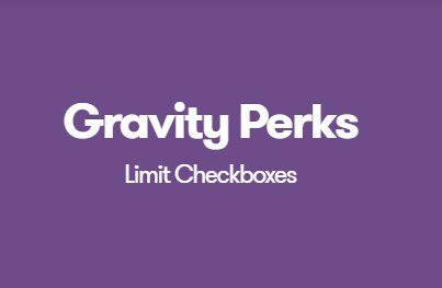 Gravity Perks Limit Checkboxes Add-On Download