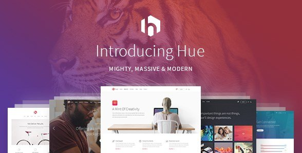 Hue - A Mighty Massive & Modern Multipurpose Theme
