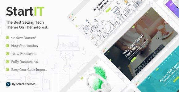 Startit - A Fresh Startup Business Theme