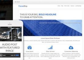Thrive Themes Focusblog WordPress Theme
