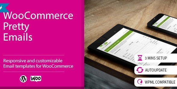 WooCommerce Pretty Emails