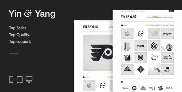 Yin & Yang - Modern Responsive Clean & Creative WordPress Theme