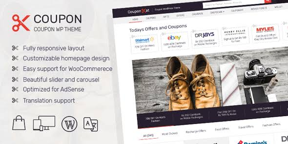 MyThemeShop Coupon WordPress Theme