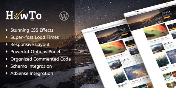 MyThemeShop HowTo WordPress Theme