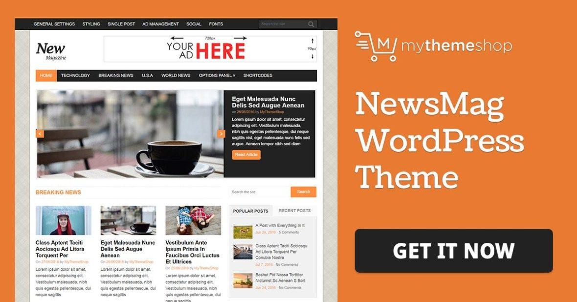 MyThemeShop NewsMag WordPress Theme