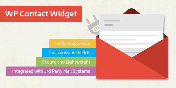 MyThemeShop WP Contact Widget WordPress Plugin