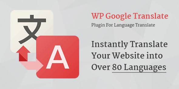 MyThemeShop WP Google Translate WordPress Plugin