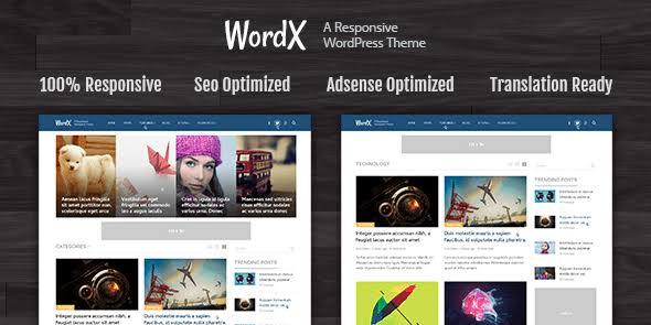 MyThemeShop WordX WordPress Theme