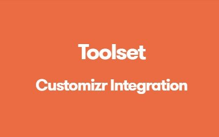 Toolset Customizr Integration