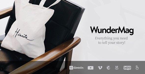 WunderMag - A WordPress Blog / Magazine Theme