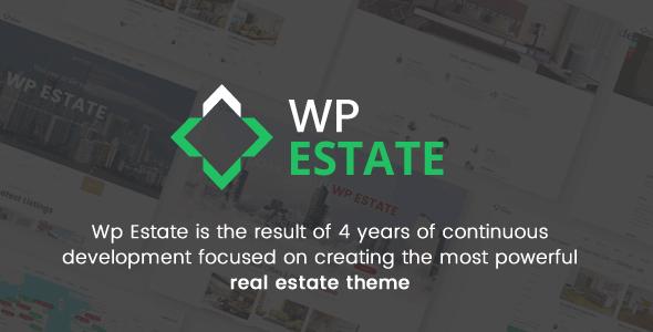 Real Estate - WP Estate Theme