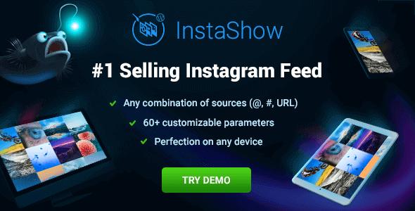Instashow - Instagram Feed For WordPress