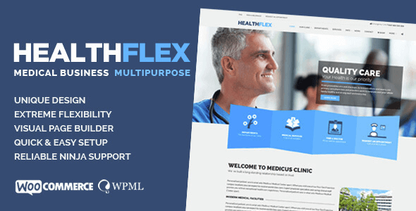 HEALTHFLEX - Medical & Health WordPress Theme