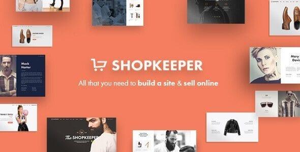Shopkeeper - Responsive WordPress Theme