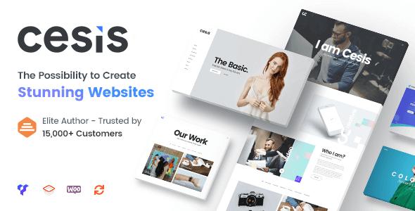 Cesis - Responsive Multi-Purpose WordPress Theme