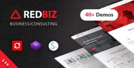 RedBiz - Finance & Consulting Multi-Purpose WordPress Theme