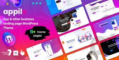 Appilo - WordPress application landing page Download