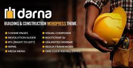 Darna Building - Construction WordPress Theme