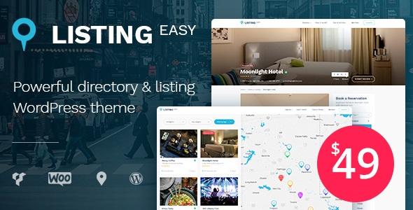 ListingEasy - Directory WordPress Theme