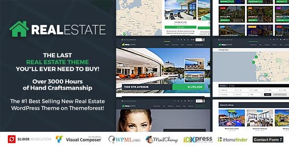 Real Estate - Real Estate WordPress Theme