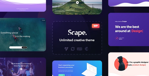 Scape- Multipurpose WordPress Theme