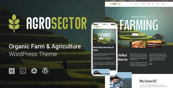 Agrosector - Agriculture and Organic Food WP