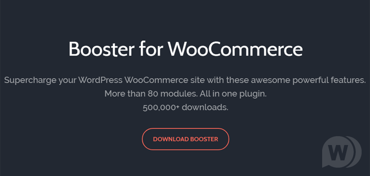 Booster Plus - for WooCommerce plugin