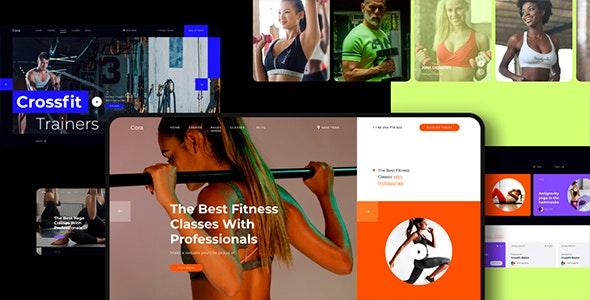 Cora Responsive Sport Clubs HTML Template