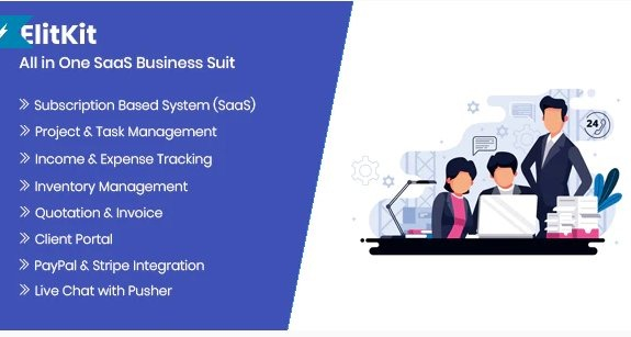 ElitKit - SaaS Application for Business GPL