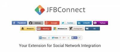 JFBConnect - Authorization Via Social Network Joomla