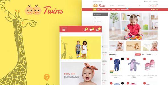 Leo Twins - Amazing Baby Store Prestashop Theme