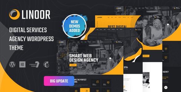 Linoor - Digital Agency Services WordPress Theme
