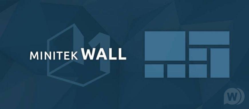 Minitek Wall Pro - output of Joomla materials