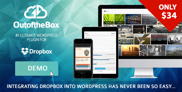 Out-of-the-Box Dropbox plugin for WordPress GPL