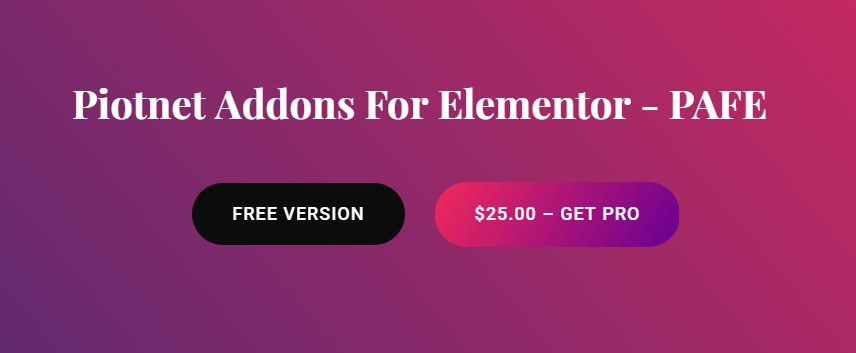 Piotnet Addons For - Elementor Pro