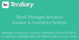 Stock Manager Advance (Invoice - Inventory System)